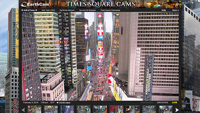 Times Square Client Page