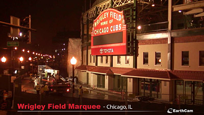 Wrigley Field Marquee Time-Lapse Time-Lapse